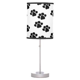 Pets Paw Prints Table Lamp