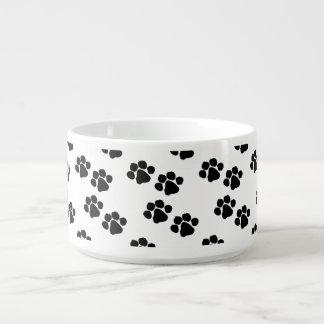 Pets Paw Prints Chili Bowl