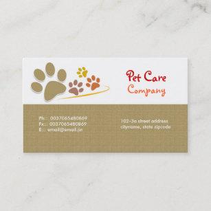 Pet business cards templates zazzle pets pet care business card colourmoves