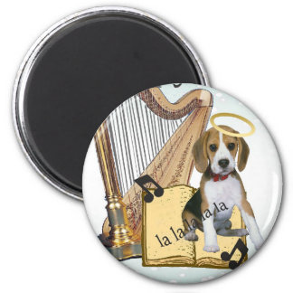 Pets Singing Bark The Herald Angels Sing gifts Magnet