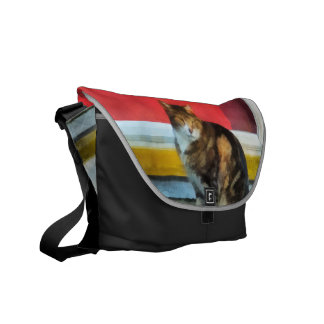 Pets - Tabby Cat by Red Door Courier Bag