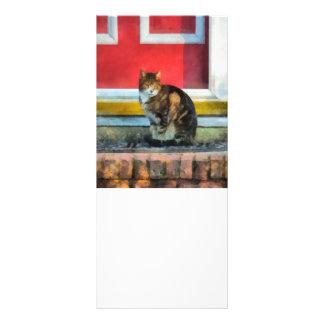 Pets - Tabby Cat by Red Door Rack Card