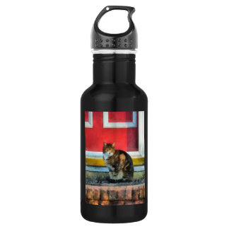 Pets - Tabby Cat by Red Door Stainless Steel Water Bottle
