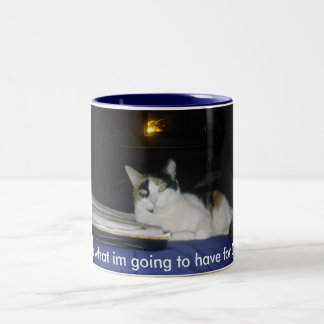pets Two-Tone coffee mug
