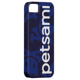 Petsami Lazy Blue Logo iPhone 5(S) Case