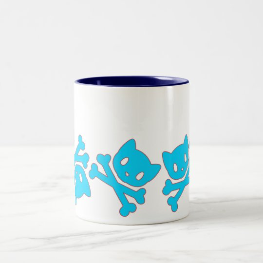 Petsami Lazy Blue Mug