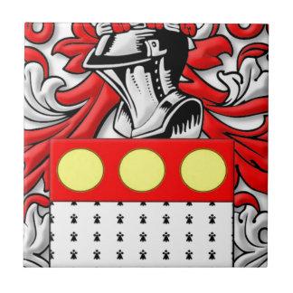Pettengill Coat of Arms Ceramic Tile