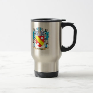 Petter Coat of Arms - Family Crest 15 Oz Stainless Steel Travel Mug