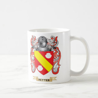 Petter Coat of Arms (Family Crest) Classic White Coffee Mug