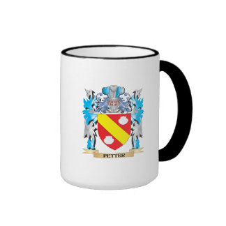 Petter Coat of Arms - Family Crest Ringer Coffee Mug