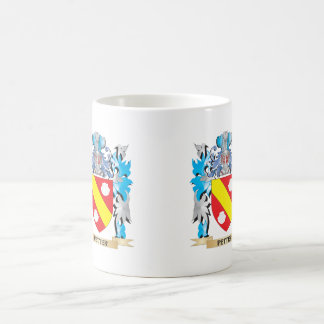 Petter Coat of Arms - Family Crest Classic White Coffee Mug