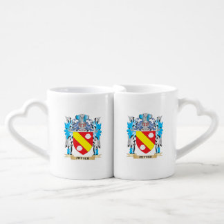 Petter Coat of Arms - Family Crest Couples' Coffee Mug Set