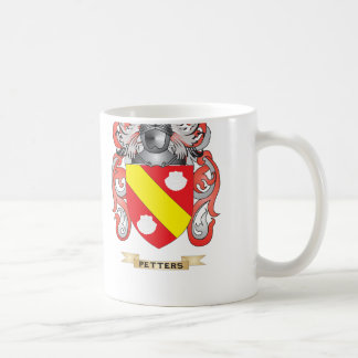 Petters Coat of Arms (Family Crest) Classic White Coffee Mug
