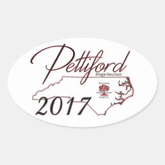 Pettiford Oval Reunion Sticker