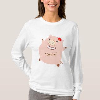 Petty Piggy (customizable) T-Shirt