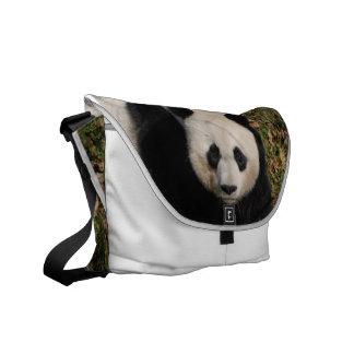 Petulant Panda Bear Messenger Bag
