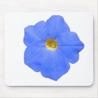 Petunia Blue and Yellow Mousepad