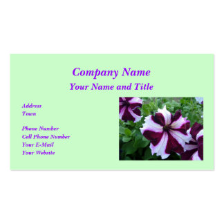 Petunia Business Card