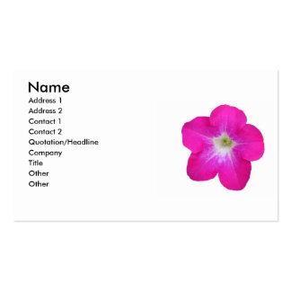 Petunia Business Cards