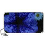 """Petunia de """"no más de azules"""" iPod altavoces"""