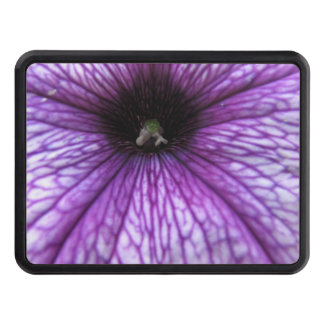 Petunia Flowers Tow Hitch Covers