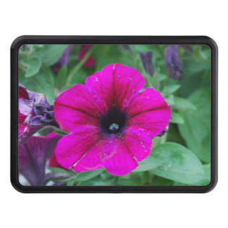 Petunia Flowers Trailer Hitch Cover