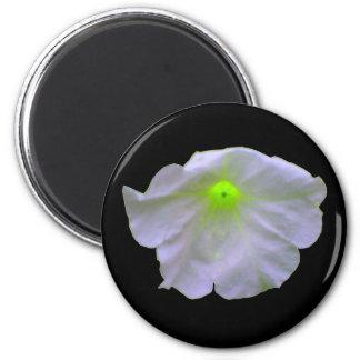 Petunia Green Glow Magnet