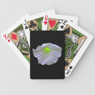 Petunia Green Glow Playing Cards