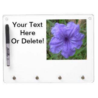 Petunia Mexican Purple Dry Erase Whiteboard