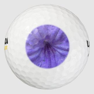 Petunia Mexican Purple Pack Of Golf Balls