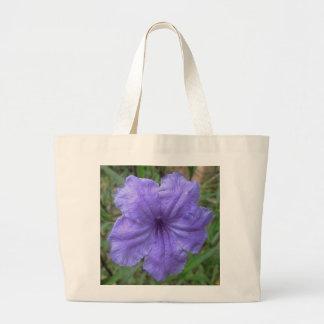 Petunia Mexican Purple Large Tote Bag