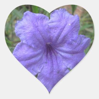 Petunia Mexican Purple Stickers