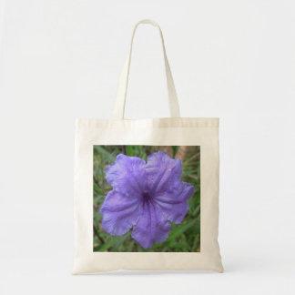 Petunia Mexican Purple Tote Bag
