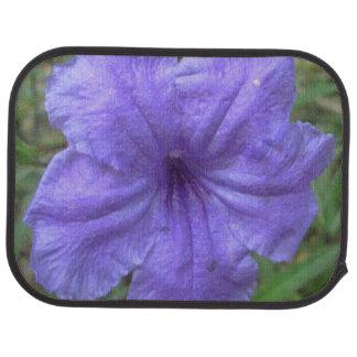 Petunia Mexican Purple Car Mat