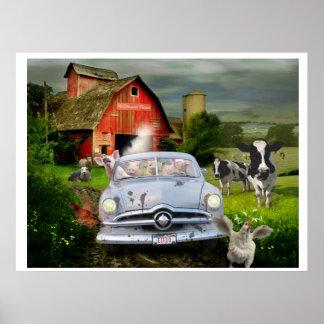 Petunia Pig's Barnyard Joyride Poster