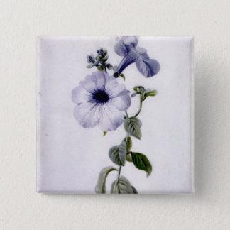Petunia Pinback Button