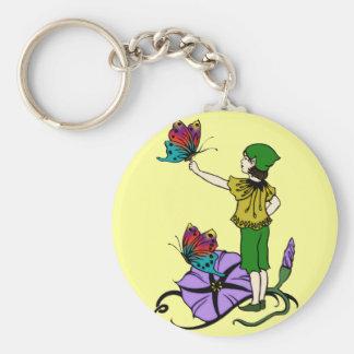 Petunia Pixie Keychain