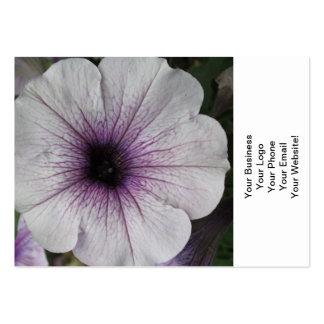 Petunia Purple Close Business Cards