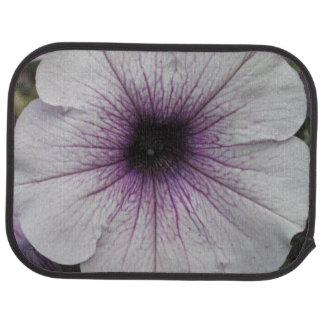 Petunia Purple Close Floor Mat