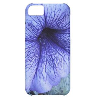 Petunia púrpura carcasa iPhone 5C