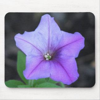 Petunia púrpura mousepad