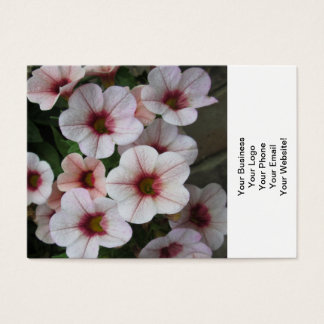 Petunia Red White Business Card