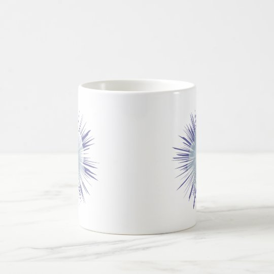 Petunia Starburst Coffee Mug