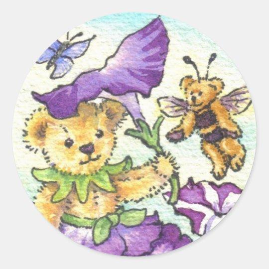 Petunia Teddy Sticker
