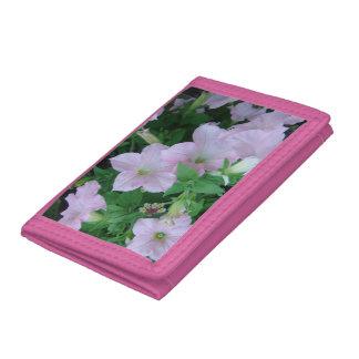 *Petunia* Tri-Fold Wallet