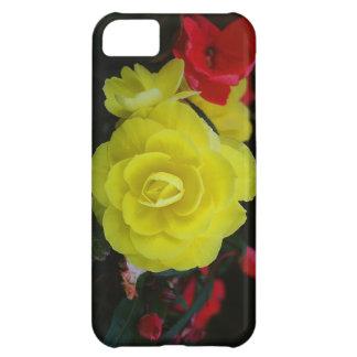Petunias amarillas funda iPhone 5C