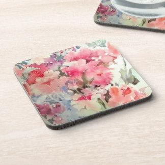 Petunias Coasters