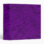 Petunias esculpidas, carpeta púrpura