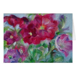 Petunia's in the Studio Card
