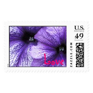 Petunias Stamp